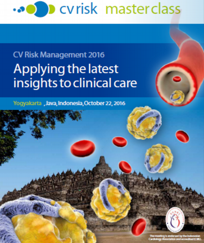 Report; CV Risk Management 2016 - Applying the latest insights to clinical care