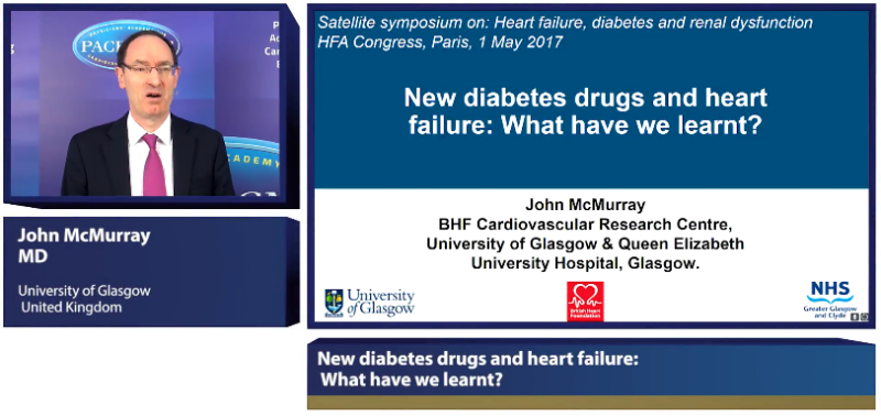 New Diabetes Drugs And Heart Failure What Have We Learnt Pace Cme