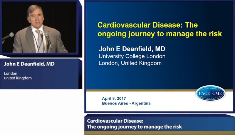 Lecture: Cardiovascular Disease: The ongoing journey to manage the risk