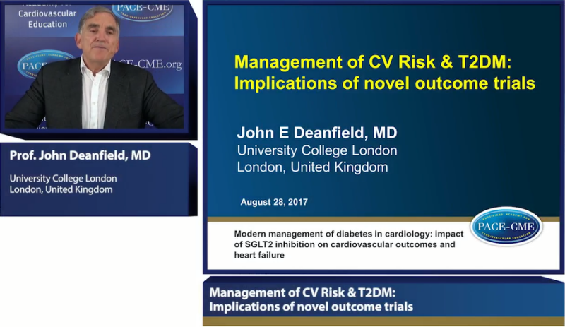 Slides: Management of CV Risk & T2DM: Implications of novel outcome trials