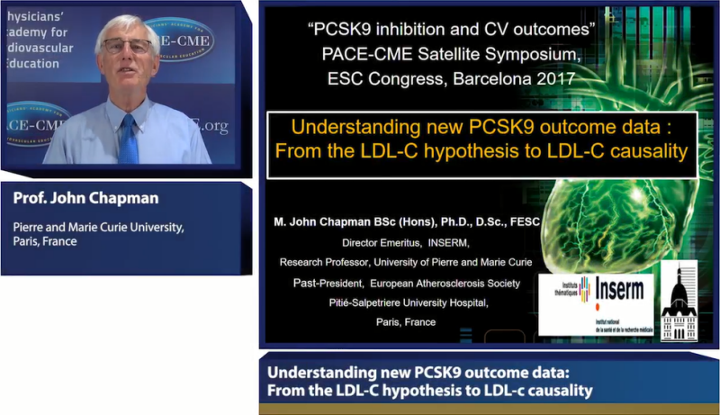 Slides: Understanding new PCSK9 outcome data: From the LDL-c hypothesis to LDL-c causality