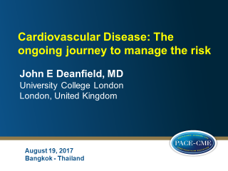 Cardiovascular risk master class 2017 Bangkok Thailand - Slides as educational service to meeting participants