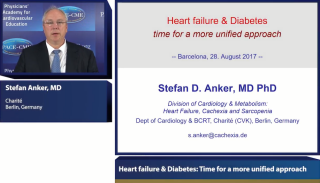 PACE-CME symposium held at ESC 2017 - Heart failure & Diabetes: Time for a more unified approach