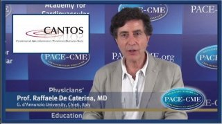 Prof. Raffaele de Caterina explains why CANTOS is an important trial. It is the first trial showing that an anti-inflammatory drug can affect important CV outcomes and thus may be a convenient therapy in addition to current treatment strategies.