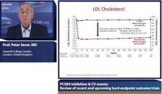 Lecture by Peter Sever, MD held at symposium on PCSK9 inhibition & Cardiovascular Outcomes:  Review of lipid targets and treatment strategies