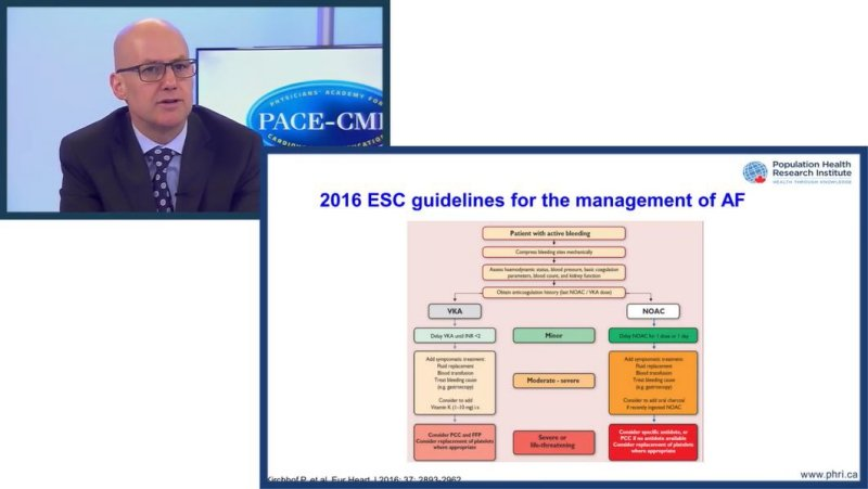 Slides: Practical guidance on NOACs and safety: How to deal with challenging situations in AF