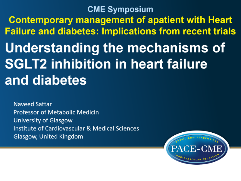 Slides: Understanding the mechanisms of SGLT2 inhibition in heart failure and diabetes