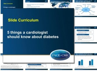 PACE-CME - Education, innovation, policy in cardiovascular medicine
