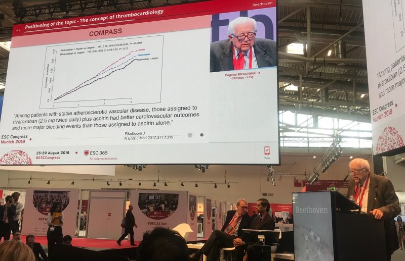 THE GREAT DEBATE: Thrombocardiology post-COMPASS