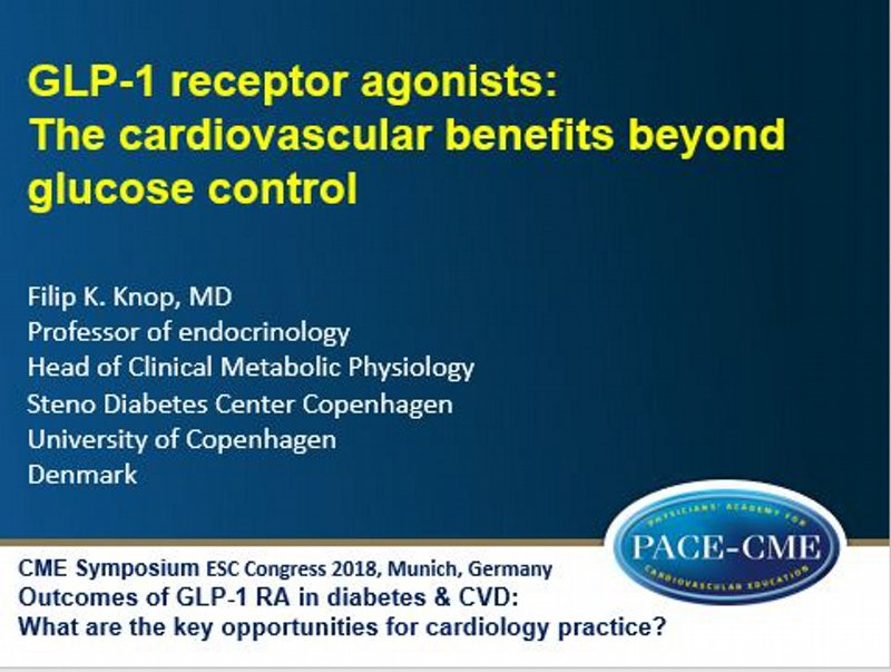 Slides: GLP-1 receptor agonists: The cardiovascular benefits beyond glucose control