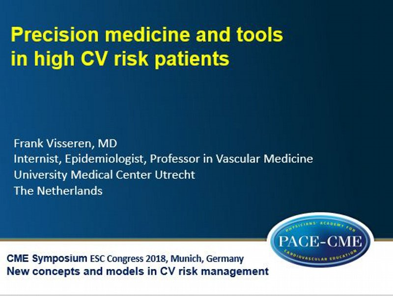 Slides: Precision medicine and tools in high CV risk patients