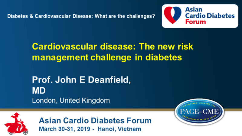 Slides: Cardiovascular disease: The new risk management challenge in diabetes