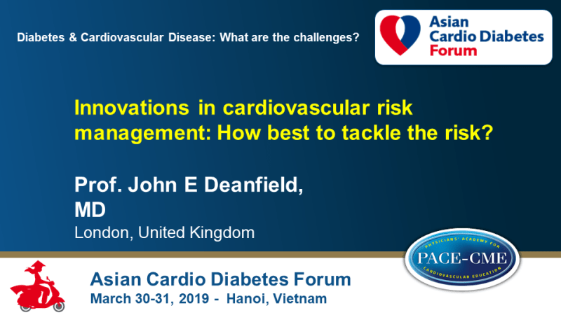 Slides: Innovations in cardiovascular risk management: How best to tackle the risk?