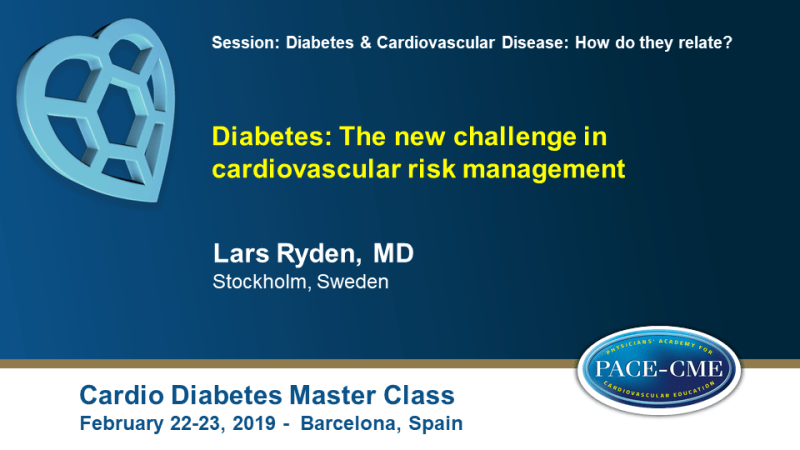 Slides: Diabetes: The new challenge in cardiovascular risk management 1