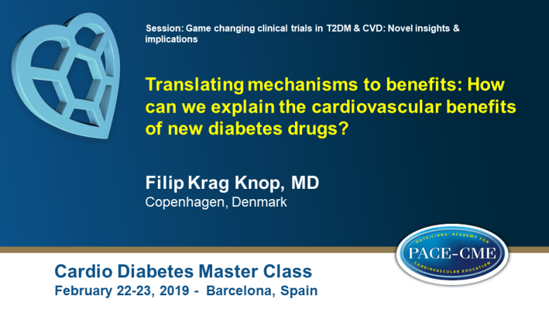 Slides: Translating mechanisms to benefits: How can we explain the cardiovascular benefits of new diabetes drugs? (1)