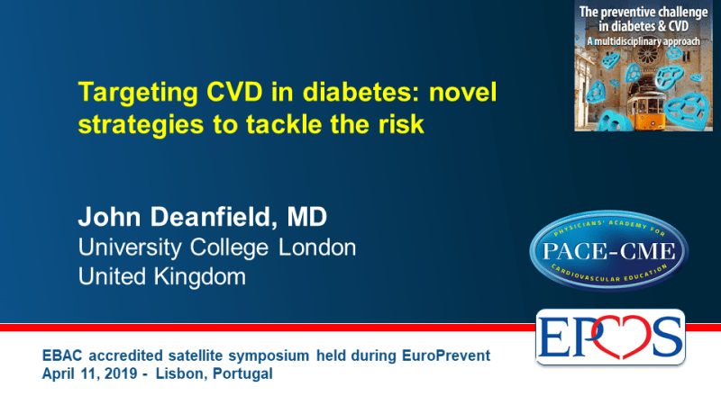 Slides: Targeting CVD in diabetes: novel strategies to tackle the risk