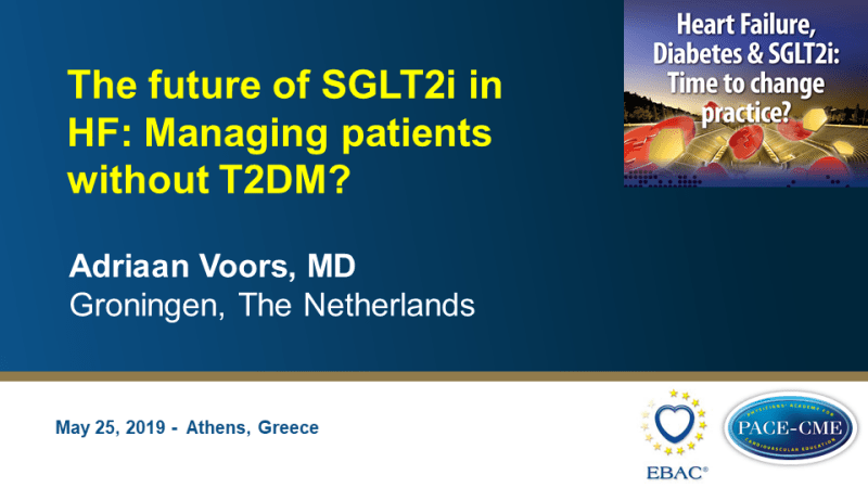 Slides: The future of SGLT2i in HF: Managing patients without T2DM?