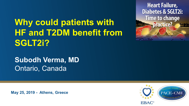 Slides: Why could patients with HF and T2DM benefit from SGLT2i?