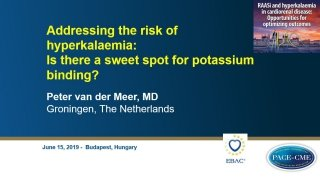 This lecture by prof. Peter van der Meer was part of a CME-accredited symposium