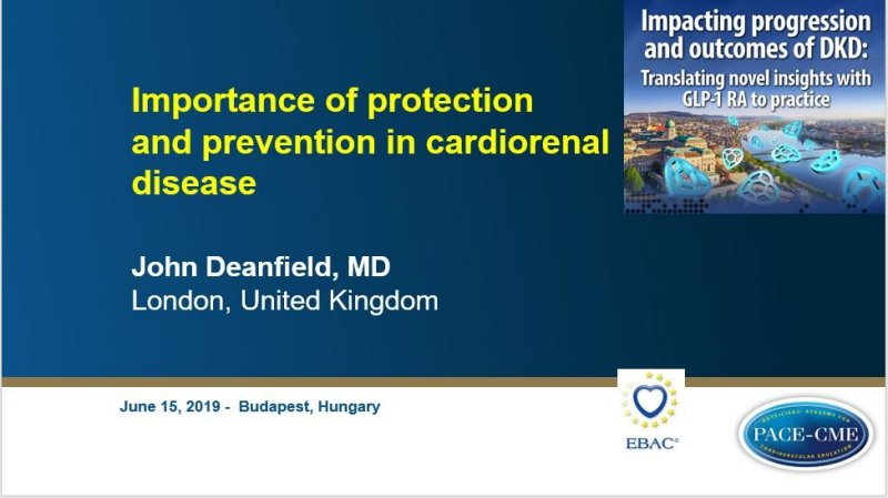 Slides: Importance of protection and prevention in cardiorenal disease