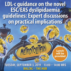 LDL-c Guidance on the novel ESC/EAS dyslipidaemia guidelines: Expert discussions on practical implications