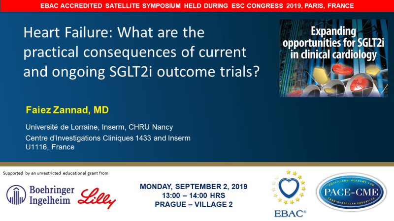Slides: Heart Failure: What are the practical consequences of current and ongoing SGLT2i outcome trials?