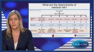 Erin Bohula explains which determinants of residual CV risk we nowadays know and presents study results on how to target these.