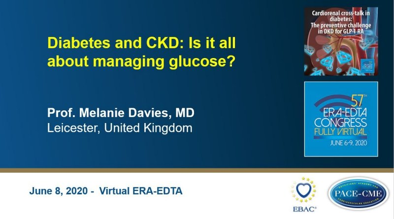 Slides: Diabetes and CKD: Is it all about managing glucose?