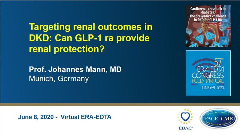 Slides: Targeting renal outcomes in DKD: Can GLP-1 RA provide renal protection?