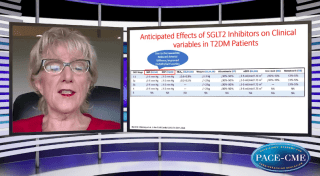 The mechanisms and beneficial cardiorenal effects of SGLT2 inhibitors in diabetic patients are dicussed in this video by Maria Rosa Costanzo, MD