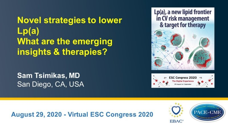 Slides: Novel strategies to lower Lp(a) What are the emerging insights & therapies?
