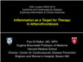 Lecture 3 prof Ridker Inflammation as target for therapy in atherothrombosis.pdf (3,3MB)